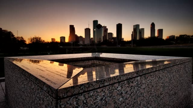 Sunrise in Houston, Texas