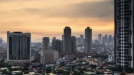 Sunrise in Manila