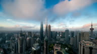 sunrise of the Lujiazui Finance and Trade Zone
