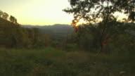 Sunrise Over Appalachian Mountains