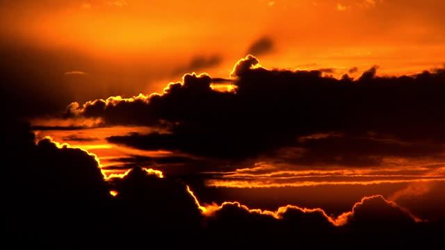 Sunrise over Kwazulu natal