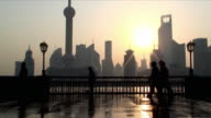 MS Sunrise over Oriental Pearl Tower, Shanghai, China