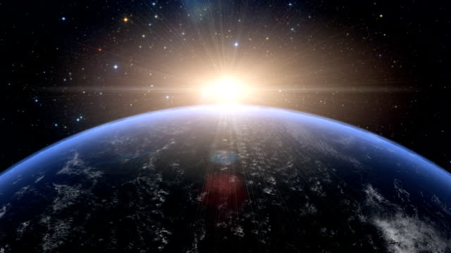 Sonnenaufgang über USA