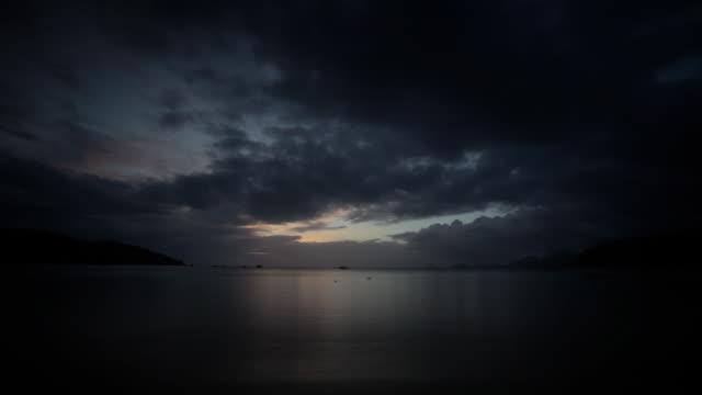 Sunrise. Time lapse