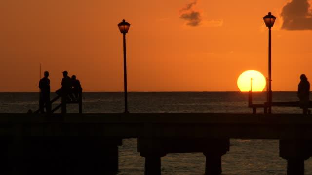 WS Sunset and sea / Brightown, Barbados