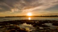 Sunset at Bondi Beach, Sydney