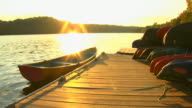 HD Sunset Canoe (1080/24P)