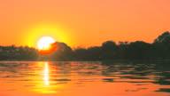 Sunset On Pool Slow