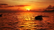 Sunset on the Anse La Reunion