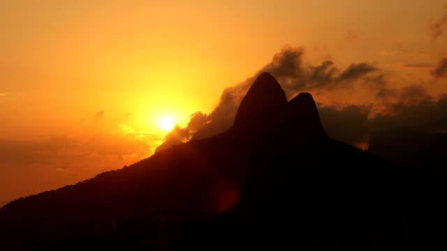 Rio Sonnenuntergang Panorama