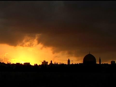 Sunset over Jerusalem normal speed