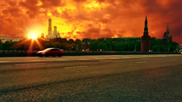 Sonnenuntergang über dem Kreml
