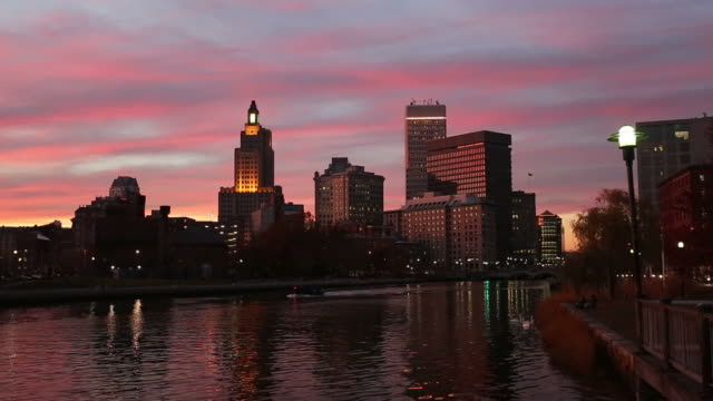 Sunset over Providence (RI)