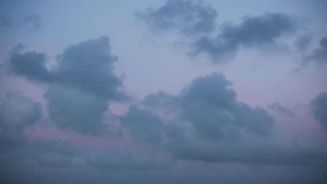 Sunset Sky Cloudscape Time Lapse