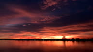 Sunset / Sunrise Timelapse über Meer