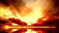 Sunset time, Wolken Zeitraffer