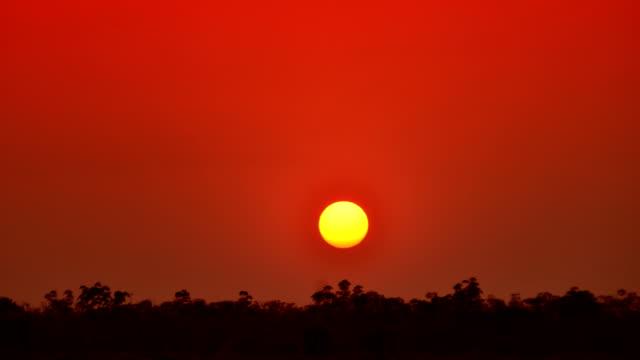 Sunset Time Lapse 4K