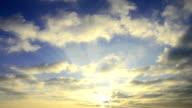 Sonnenuntergang, timelapse full HD