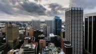 Sunset Timelapse of Sydney CBD from 40 floor, Sydney