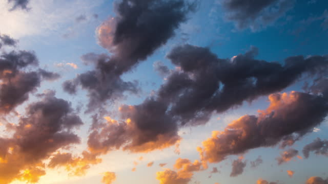 4K sunset Timelapse
