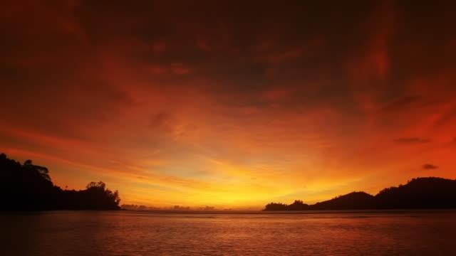 Sunset to night