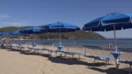 PAN/ Sunshades on Lacona beach
