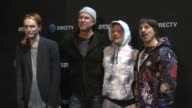 Super Saturday Night CoHosted By Mark Cuban's AXS TV Featuring Red Hot Chili Peppers And Special Guests at Pier 70 on February 06 2016 in San...