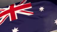 Super Slow Motion HD - Australia flag close up