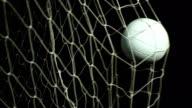 Super Zeitlupe weiß Fußball, Fußball Ziel, Net