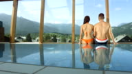 HD Super Slow-Mo: Affectionate Couple Enjoying The View