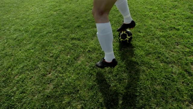 HD Super Slow-Mo: Dribble A Soccer Ball