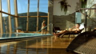 HD Super Slow-Mo: Enjoying Luxury Pool Villa