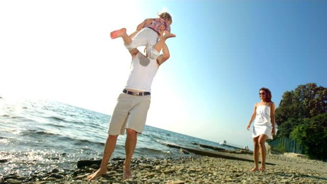 HD Super Slow-motion: Filatura Sua figlia Padre