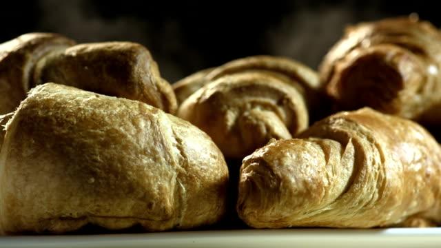 HD Super Slow-Mo: Freshly Baked Croissants