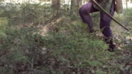 HD Super Slow-Mo: Medieval Archer Shoots Arrow