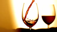 HD Super Slow-Mo: Pouring Wine Into Glass
