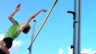Super Zeitlupe, HD: Professionelle Sportler Training High Jump