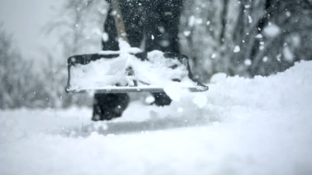 HD Super Slow-Mo: Shoveling Snow