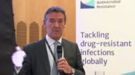 Jim O'Neill press conference ENGLAND London INT Jim O'Neill speaking at press conference SOT on need to develop superbug resistant antibiotics