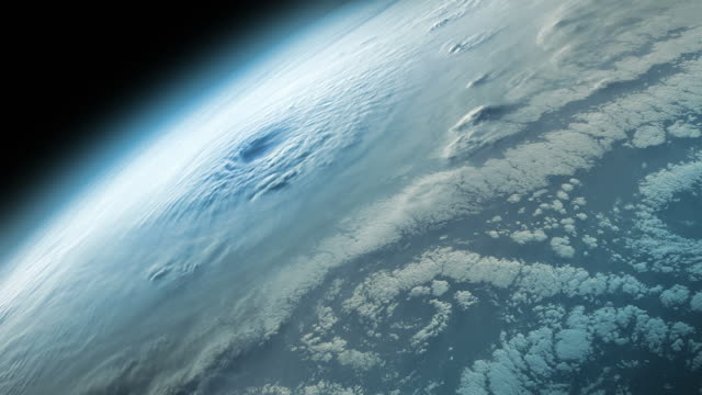 Supercell hurricane oder tornado ohne Blendenfleck