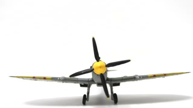 Supermarine Spitfire Engine Startup