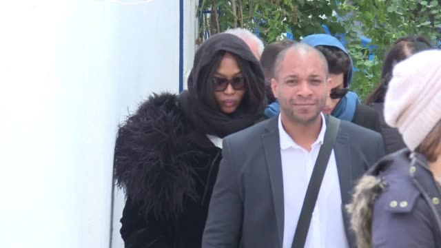 Supermodel Naomi Campbell and Tunisia's president led mourners in a final tribute Monday to French Tunisian fashion designer Azzedine Alaia who died...