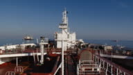 supertanker at sea