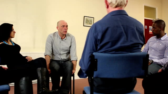 Support Group, Man shares his story at Therapy / Counselling