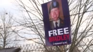 Supporters of Bradley Manning the US army private accused of turning over classified US documents to WikiLeaks rallied outside the fort where he is...
