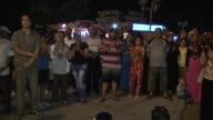Supporters of the alNahda Movement gathered in Sousse province of Tunisia chant slogans as they protest against the hotel attack on June 26 2015 The...