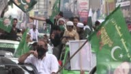 Supporters of the ruling PML N party rallied in Islamabad on Saturday to show their support for Nawaz Sharif after Pakistan's Supreme Court...