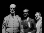 Supreme Court Justice Charles Evans Hughes Sr appears at campaign event for candidate Warren G Harding in Ohio / film clip of actress Lillian Russell...