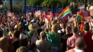 Supreme Court Strikes Down Defense of Marriage Act on June 26 2013 in Los Angeles California