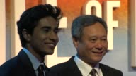 Suraj Sharma and Ang Lee at the UK Premiere of 'Life of Pi' at Empire Leicester Square on December 3 2012 in London England